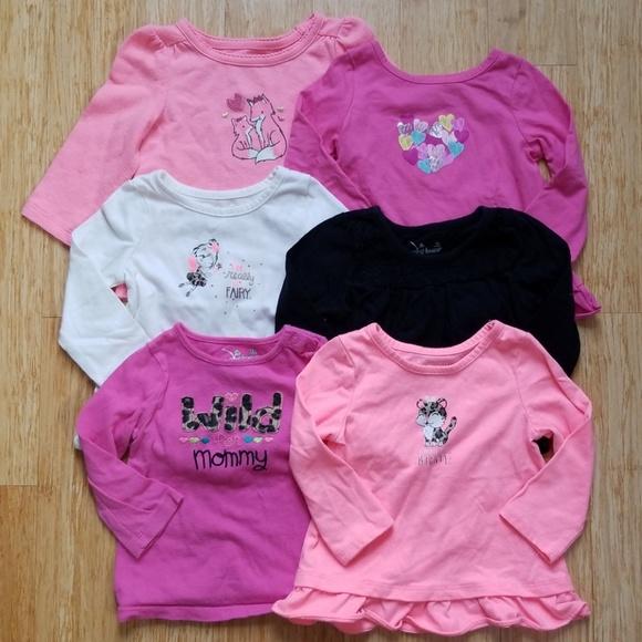 6337b21a4 jumping beans Shirts & Tops | Long Sleeved Tees Set Of 6 | Poshmark